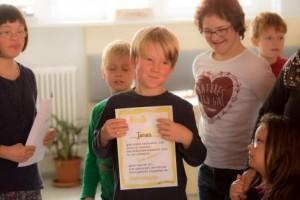 Kinderkochkurs für die Geschwister von Down-Syndrom Kindern während des Familienselbsthilfetages in Weimar 2015
