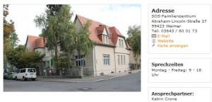 SOS-Familienzentrum Weimar