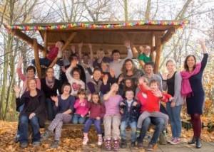 Teilnehmer eines Seminars von Dipl.-Psych. Anna-Maria Steyer für Eltern von Kindern mit Down-Syndrom am 4. Familienselbsthilfe-Tag in Weimar 2015