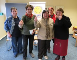 Teilnehmer des SeminarsGesunde Gewohnheiten mit Leichtigkeit von Dipl.-Psych. Anna-Maria Steyer