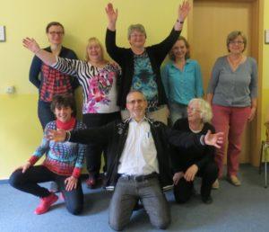 Teilnehmer des Seminars von Dipl.-Psych. Anna-Maria Steyer, 2017 in Weimar: Innere Stärke entfalten